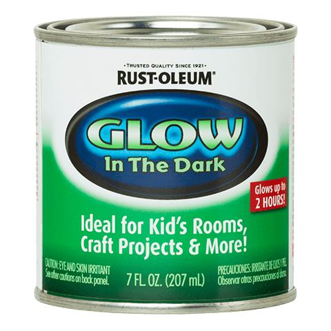 Rustoleum Glow In The Dark Paint -