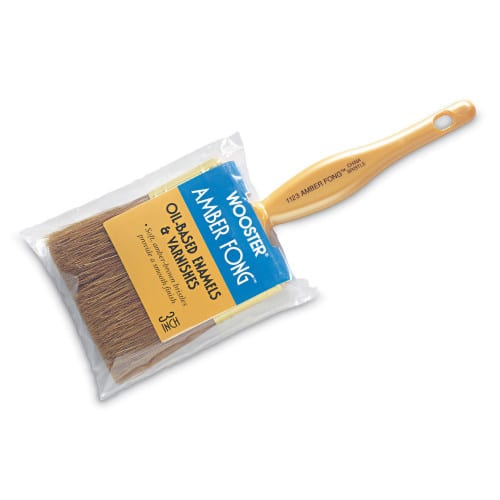 BROWN CHINA BRISTLE paint brush