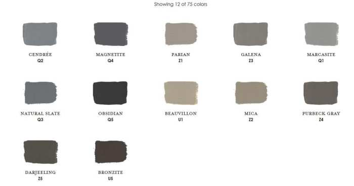 Charcoal Century Paint Colors