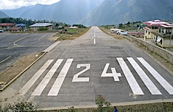 Lukla Mount Everest Nepal Airport