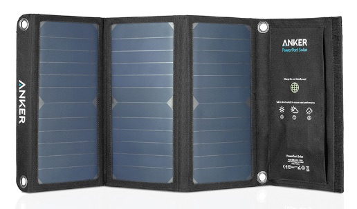 Anker PowerPort Solar 21W 2 Port USB