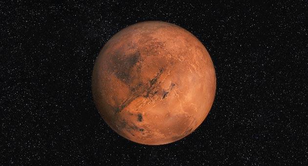 ciri ciri planet mars