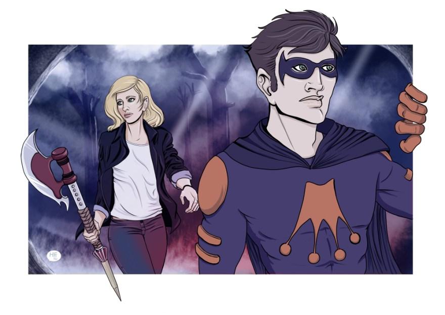 FanArt Buffy x FusionMan