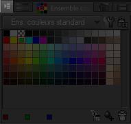menu de palette