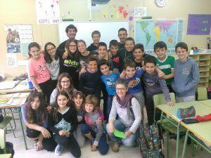 Foto de los alumnos del Ezkaba IP
