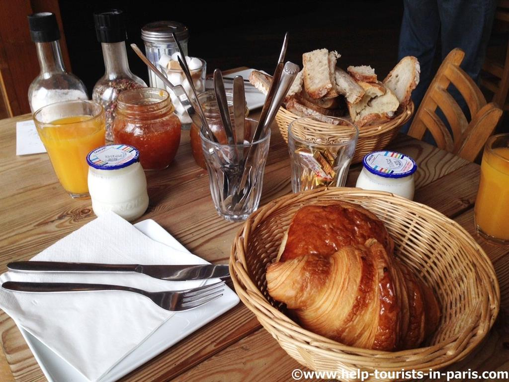 Pain de la Bourse in Paris - Ideal zum Brunchen