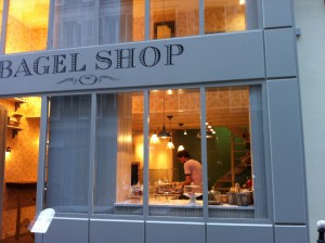 Leckere Bagels in der Rue Cadet