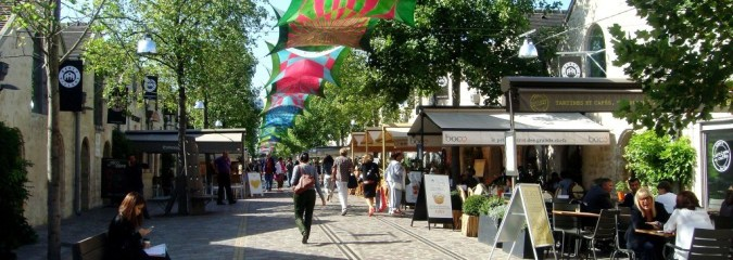 Bercy Village in Paris