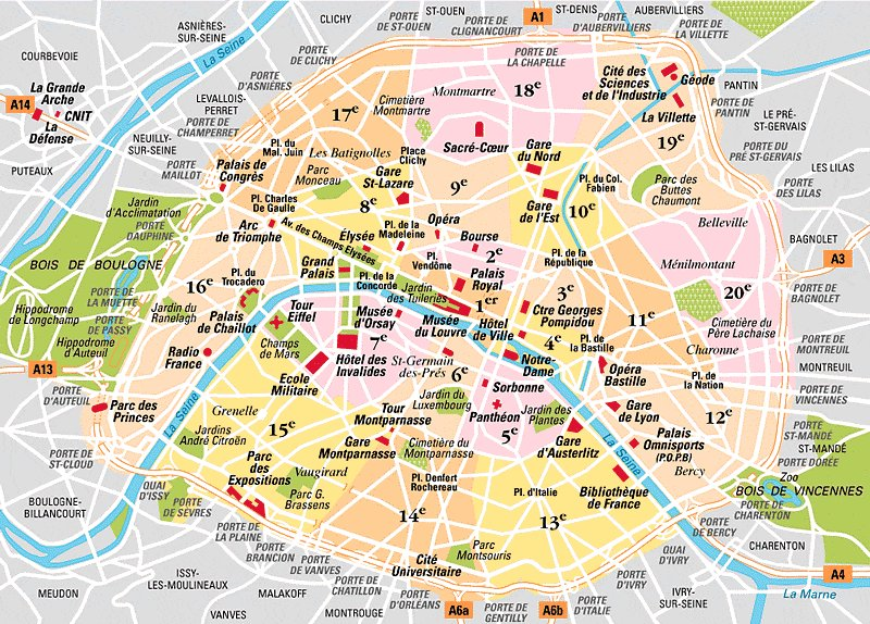Arrondissements von Paris