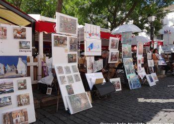 Place du Tertre in Montmartre