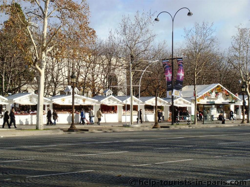 Weihnachtsmarkt Paris Champs-Elysées