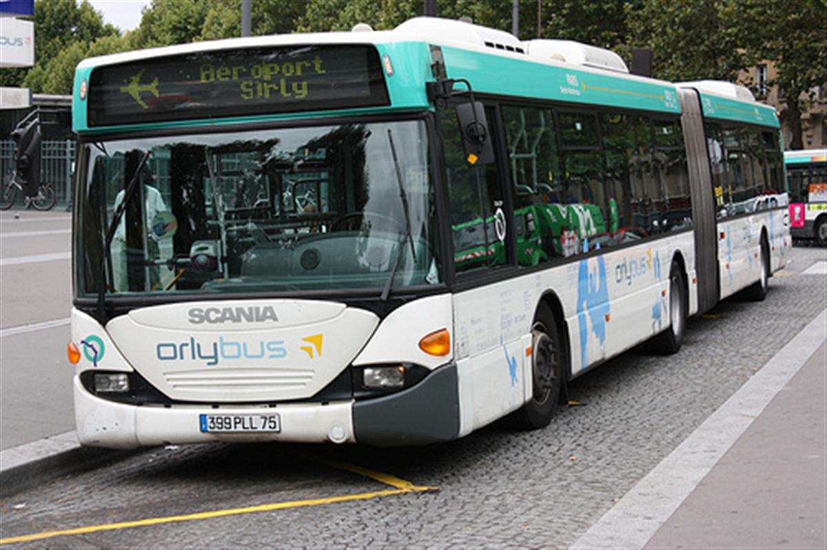 Orlybus für Flughafentransfer Orly-Paris