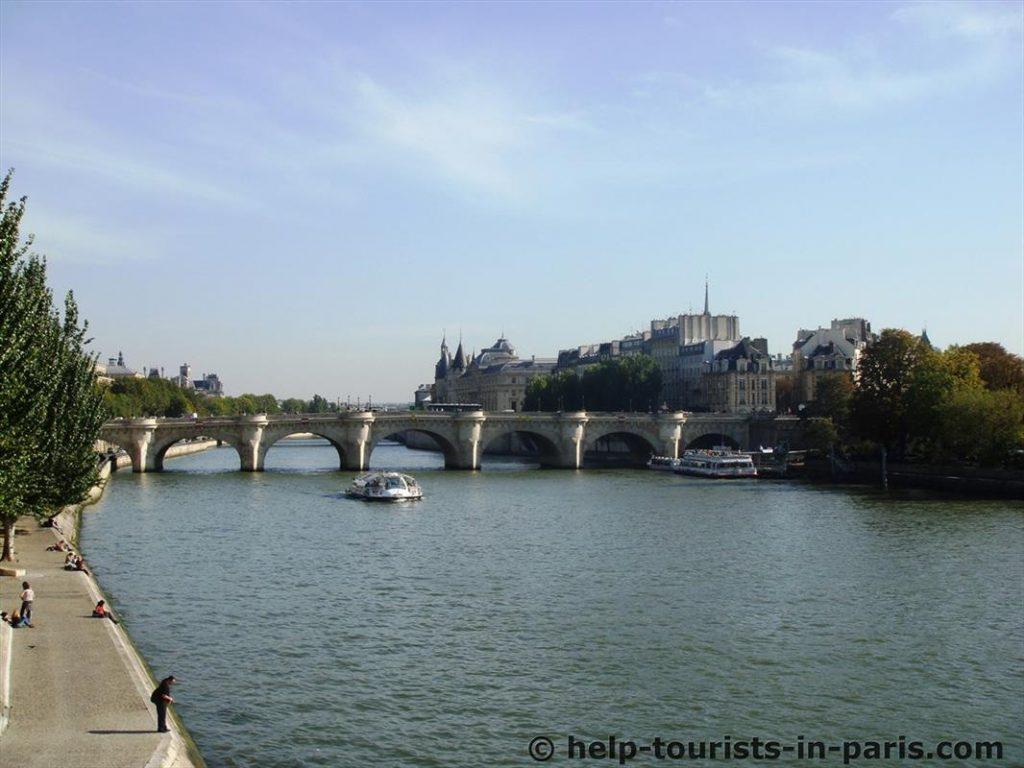 Seinebrücke Paris