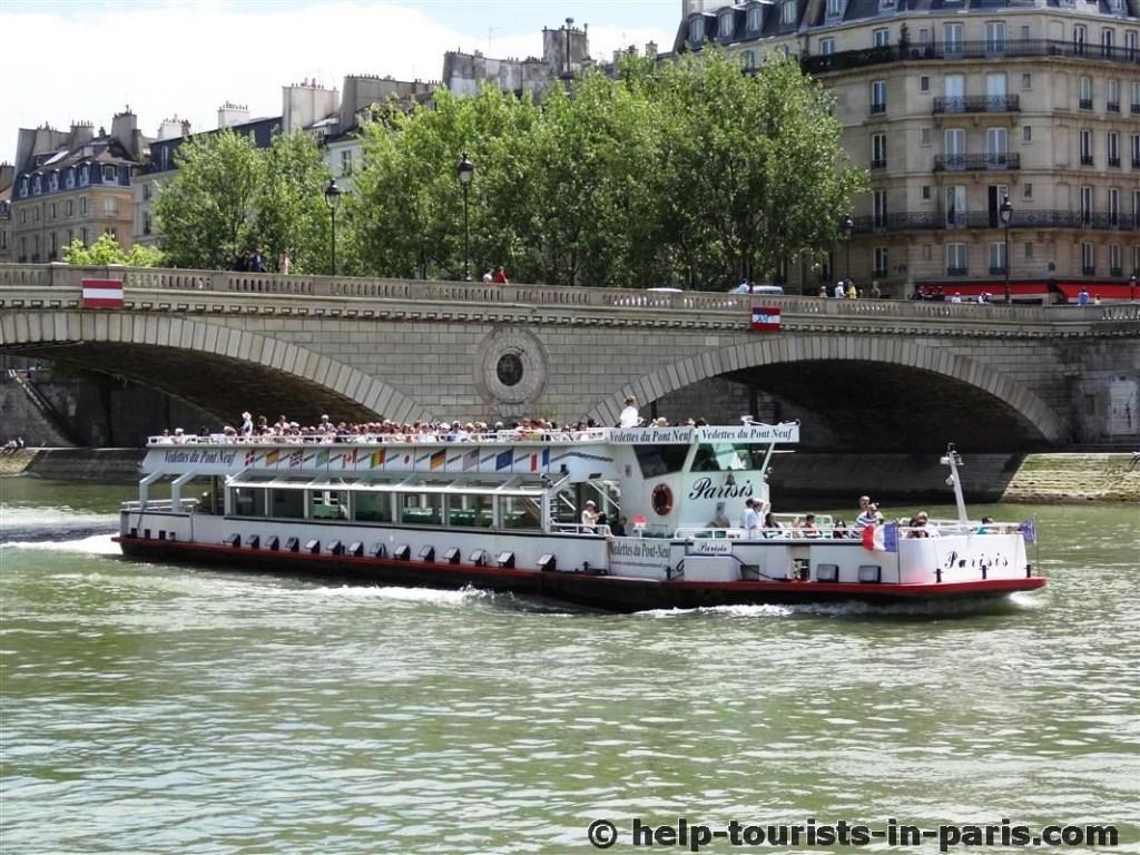 Vedettes du Pont-Neuf - Bootsfahrt durch Paris