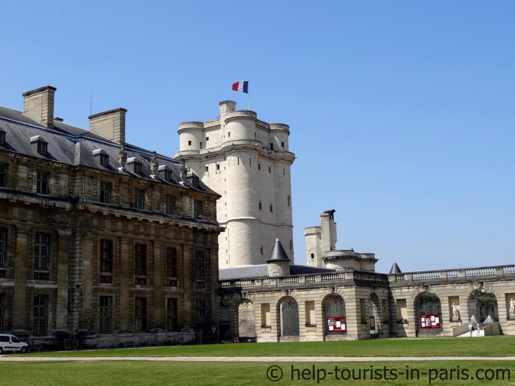 Château de Vincennes in Paris