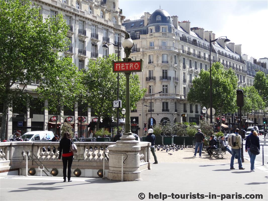tickets und preise pariser metro 2017 touristen in paris. Black Bedroom Furniture Sets. Home Design Ideas