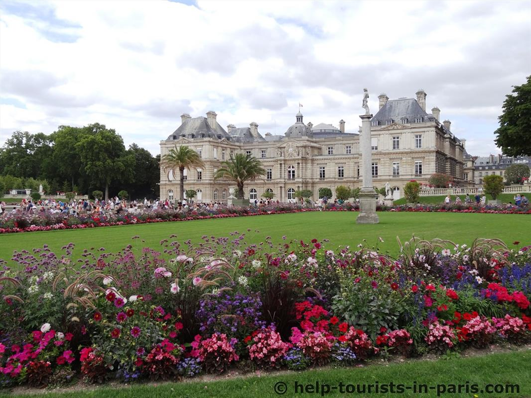 Der jardin du luxembourg in paris touristen in paris for Jardin luxemburgo
