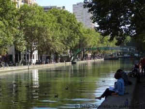 Canal Saint Martin Paris