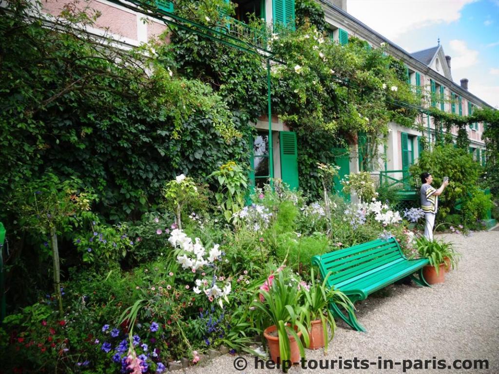 Haus von Monet in Giverny