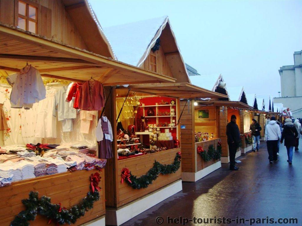 Weihnachtsmarkt am Eiffelturm