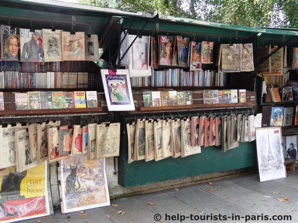 Bouquinisten in Paris