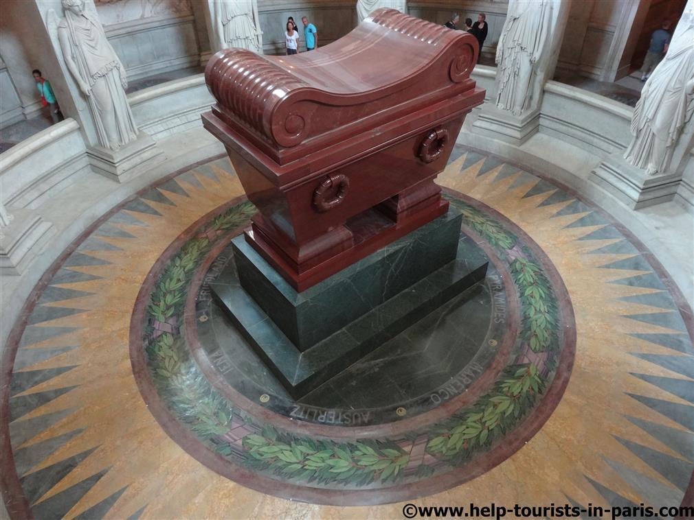 Grab von Napoleon