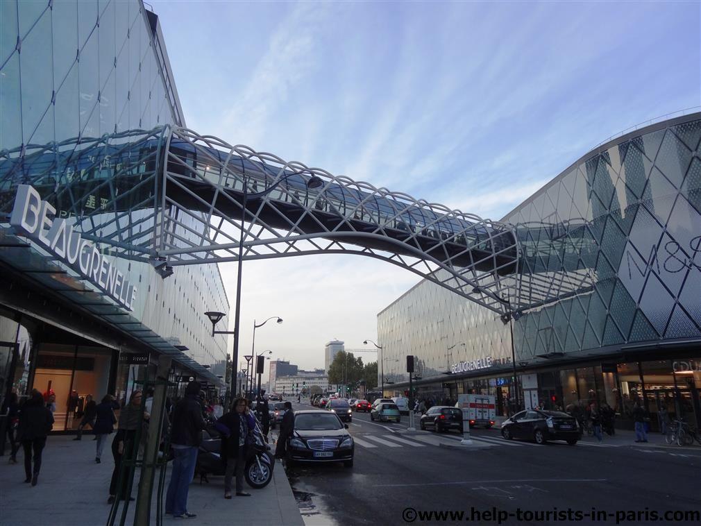 eaugrenelle Einkaufscenter Paris