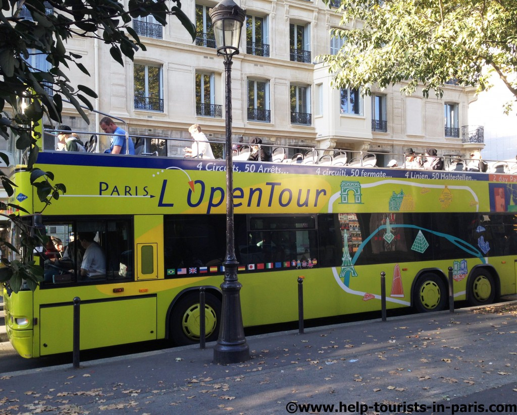 Open Tour Bus Paris