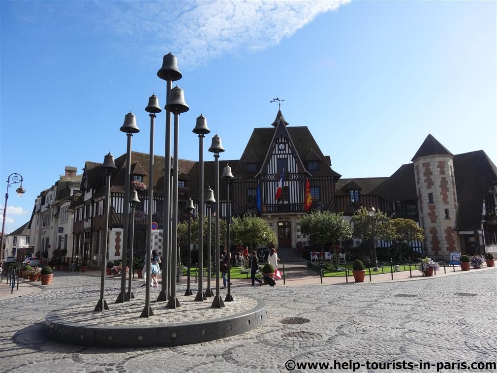 Place Morny in Deauville