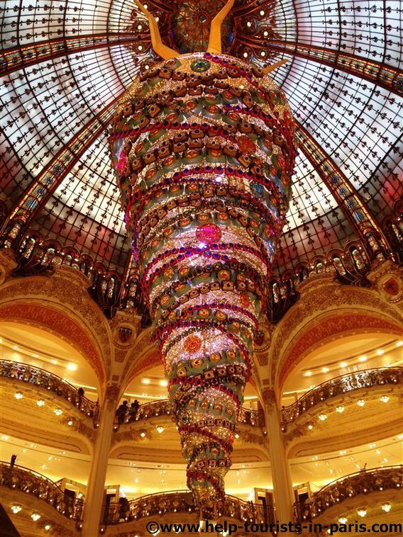 Weihnachtsbaum 2014 Galeries Lafayette