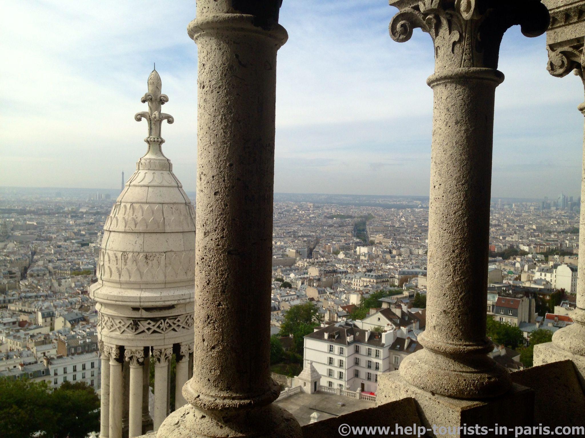 In der Kuppel von Sacré Coeur in Paris