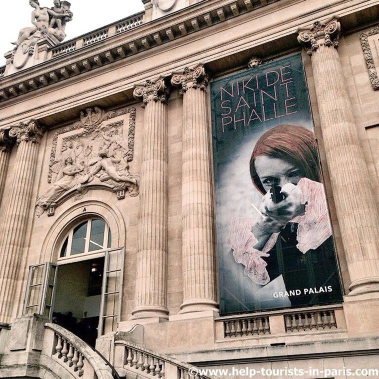 Niki de Saint Phalle Ausstellung in Paris