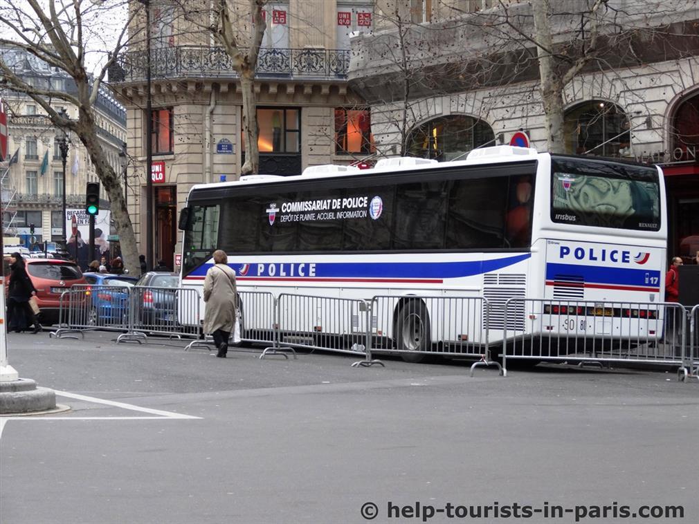 Taschendiebe in Paris