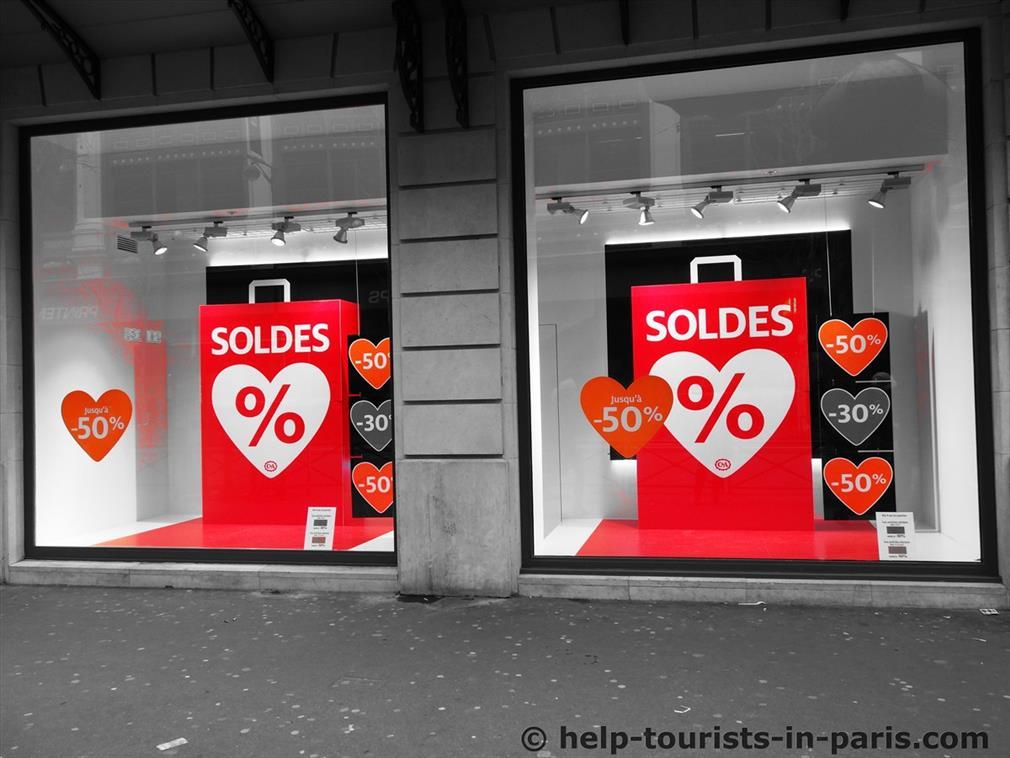Soldes in Paris