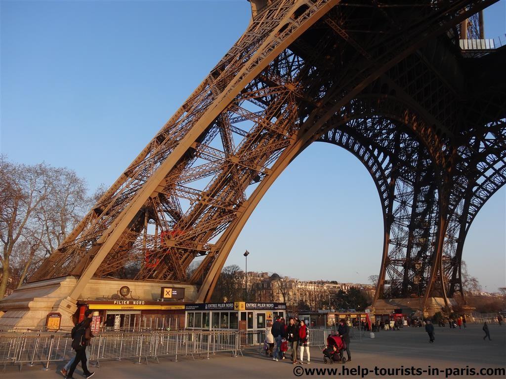 Kontrollen Eiffelturm
