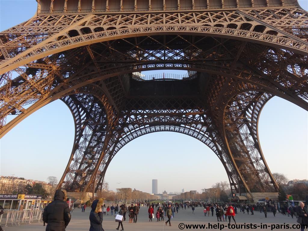 Eiffelturm ohne Anstehen