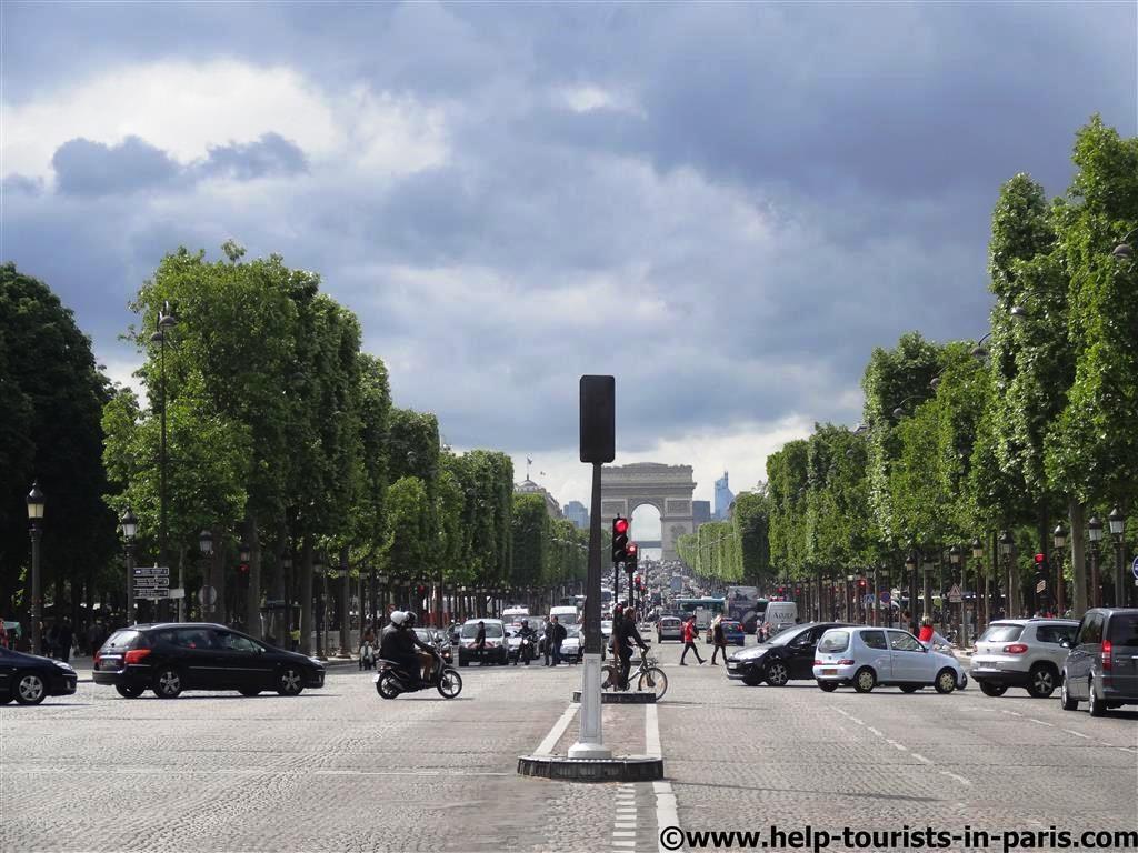 Champs-Elysées in Paris
