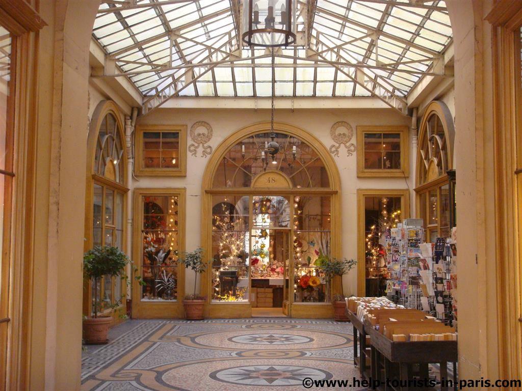 Pariser Passage Galerie Vivienne