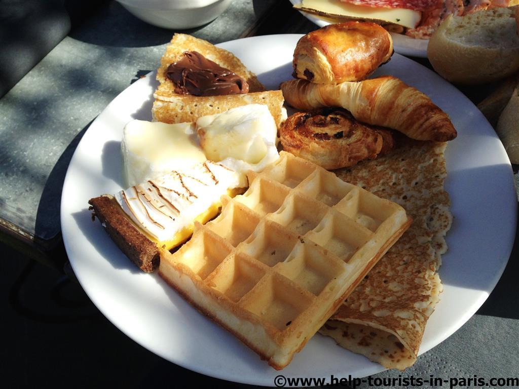 Ideal zum Frühstücken in Paris