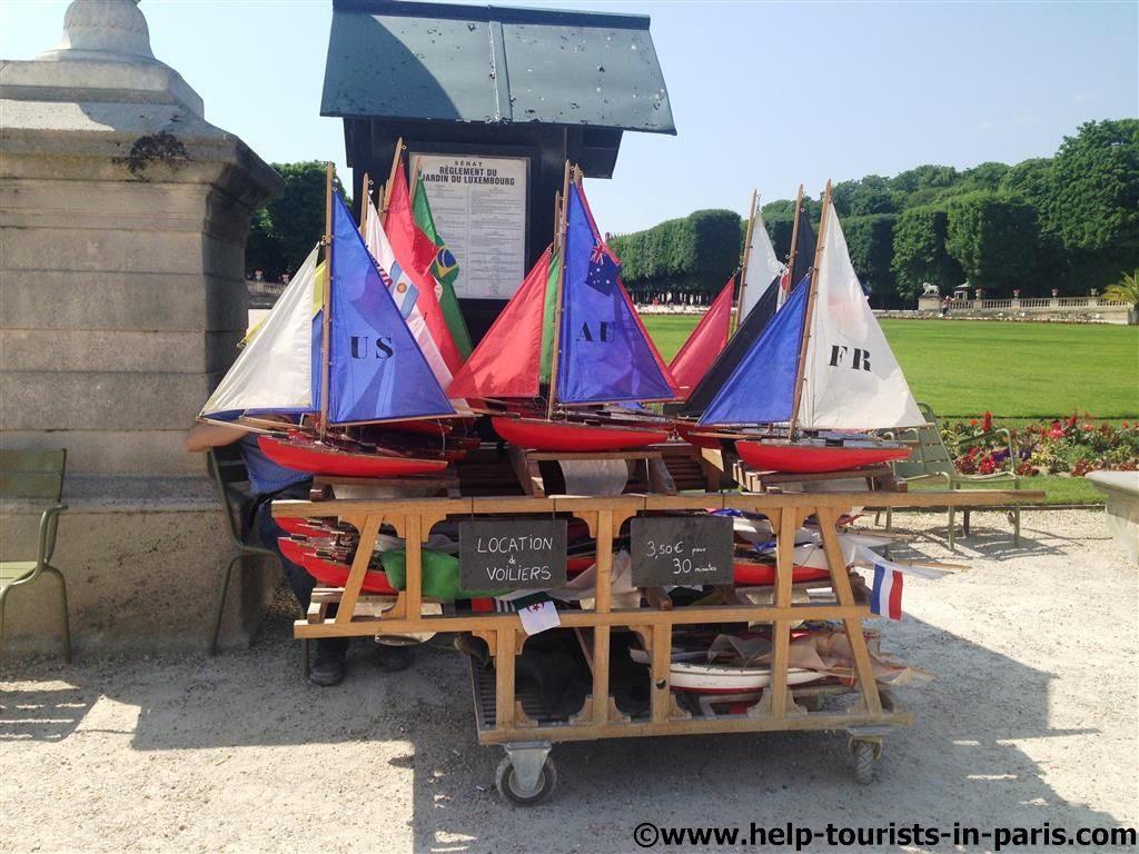 Bootsverleih Jardin du Luxembourg