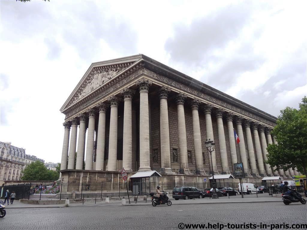 Madeleine Kirche Paris