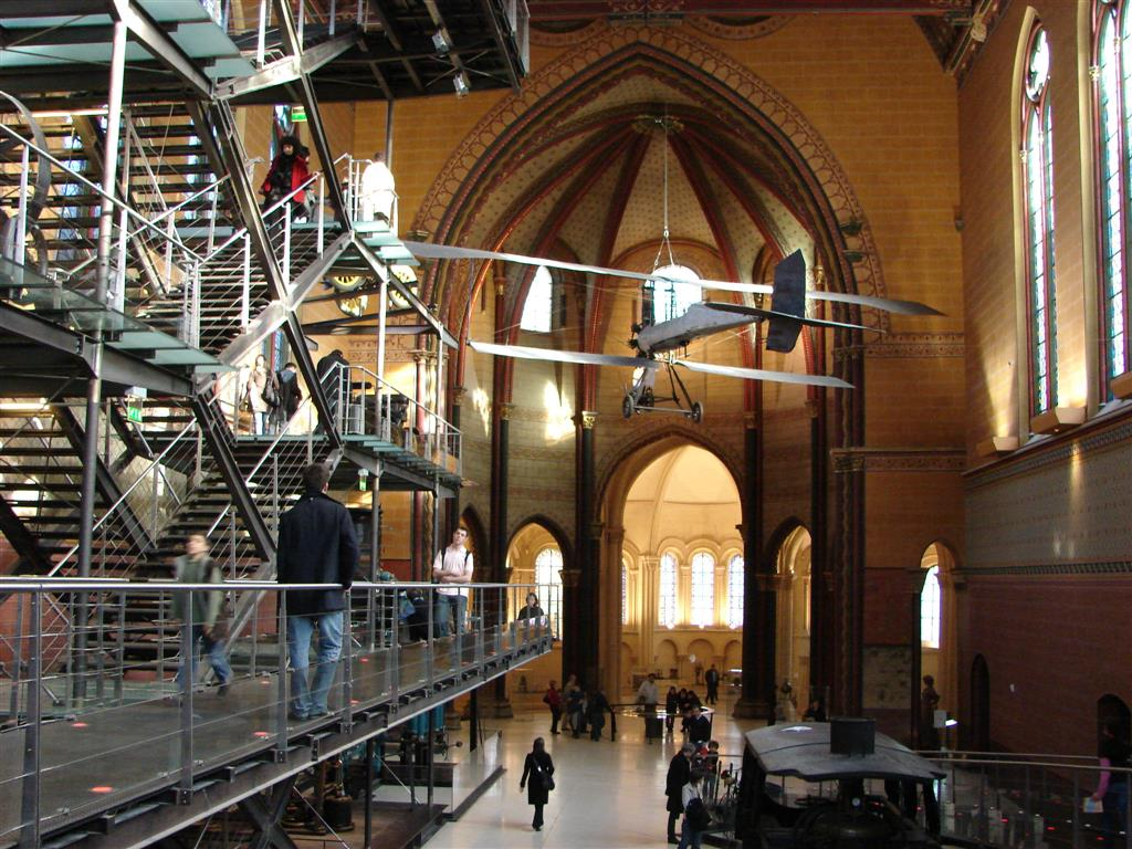 Arts et metiers Museum in Paris