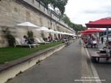 Pariser Stadtstrand ohne Sand