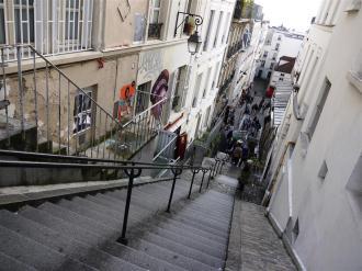 Treppen in Montmartre