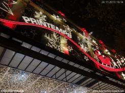 Weihnachten Kaufhaus Printemps