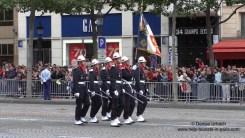 Französischer Nationalfeiertag Paris