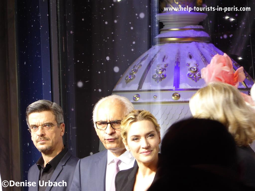 Kate Winslet Printemps Paris Weihnachten 2015