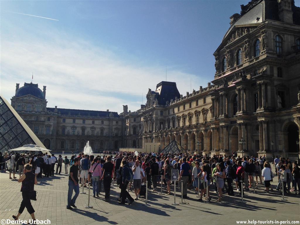 Louvre Wartezeit