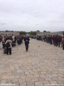 Wartezeit Versailles