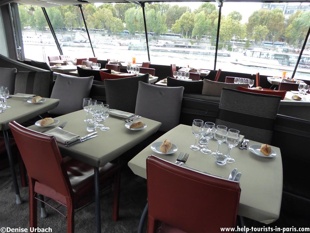 Bateaux Parisiens Dinnerfahrt